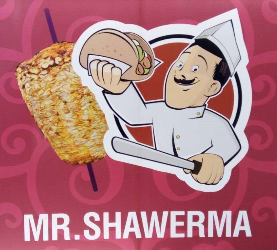 Логотип заведения Mr.Shawerma