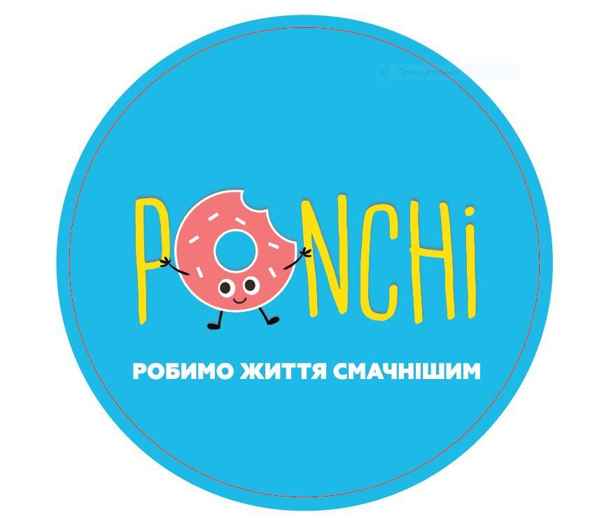 Логотип заведения PONCHI (Пончи)