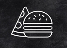 Логотип заведения Pizzburger