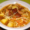 Суп из белых грибов с лапшой Веранда