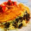 Омлет с грибами и сыром Веранда