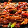 Курица с овощами Веранда