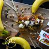 Банан + nutella + микс орехов Кес Кьо Блинчики