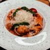 Фетучинни с митболамы в сливочно-томатном соусе Филижанка