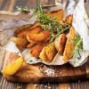 Картофель дольками с трюфельным маслом Стейк Хаус