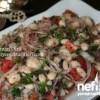 Салат из фасоли Истанбул