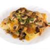 Картофель печеный с мясом и грибами Жар-пицца