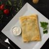 Блины с мясом, сыром и луком порей Dinapoli