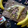 Банан + nutella + орех + маршмеллоу Кес Кьо Блинчики