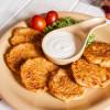 Деруны картофельные по-староукраински со сметаной Вареники