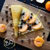 Сыр маскарпоне + голубика + мандарин + шарики nesquik Кес Кьо Блинчики