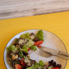 Салат тёплый с телятиной и овощами   Family Palace