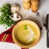 Крем - суп грибний Вареники