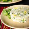 Рис басмати с яйцом и зеленью Вареники