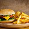 Бургер Чикен и картошка фри Viva Italia