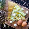 Рафаэлло по-узбекски с ананасом и кукурузой Кес Кьо Блинчики