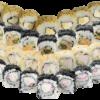 Black-White Niko Sushi