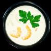 Сливочный суп с морепродуктами Niko Sushi
