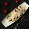 Цезарь с лососем и сыром Пармезан Dinapoli
