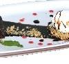 Шоколадный фондан Две палочки