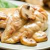 Отбивная куриная с грибами Жар-пицца
