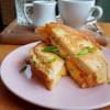 Яичные гренки с сыром Ростерия Грифель