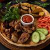 Курица гриль с картофелем и овощами Dinapoli