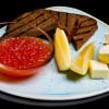 Красная икра со сливочным маслом и тостами  Richmond (Ричмонд)