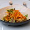 Веганские котлеты из чечевицы с овощным соусом Cream Soda