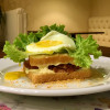 Крок-мадам Lunch Cafe (Ланч Кафе)