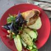 Стейк из курицы с овощами гриль  LeRoi