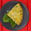 Зеленый омлет со шпинатом Ростерия Грифель