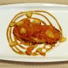Лосось с ананасами в золотисто-фруктовом соусе Lunch Cafe (Ланч Кафе)