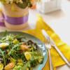 Салат с креветками и авокадо  Family Palace