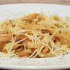 Паста с креветками в сливочном соусе Lunch Cafe (Ланч Кафе)