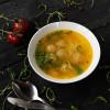 Суп с лапшой и куриными фрикадельками Dinapoli