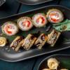 Темпура с лососем и тунцом Инь-Янь