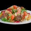 Теплый салат с печенью Mafia