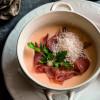 Сырный суп с прошуто  Филижанка