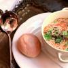 Овощной суп с песто и пармезаном Филижанка