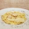 Паста в сливочном соусе с куриной грудкой Lunch Cafe (Ланч Кафе)