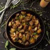 Телятина запеченная с грибами и картофелем Dinapoli