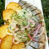 Слабосоленая сельдь с картофелем Мясо Хаус