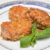 Свинина под сыром с кунжутом Кумир