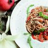 Спагетти по-тайски с овощами и курочкой в кисло-сладком соусе Филижанка