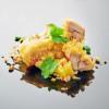 Жаренная курица в темпуре с ананасом UMAMI