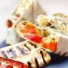 Лаваш с сыром Сулугуни и овощами UMAMI