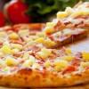 Пицца гавайская с ананасом и копчёной курицей UMAMI