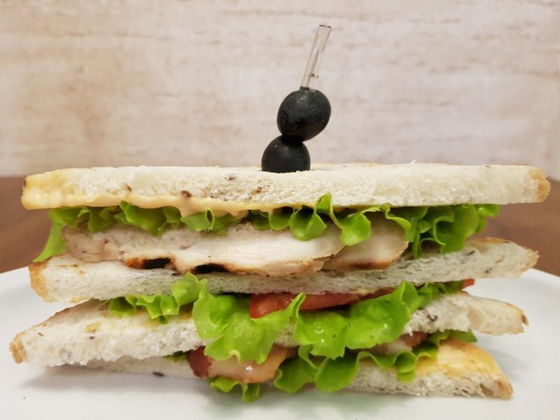 Клаб-сэндвич Lunch Cafe (Ланч Кафе)