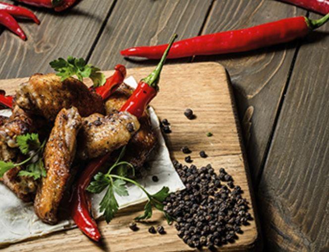 Куриные крылышки BBQ Grill Pub (Гриль Паб)